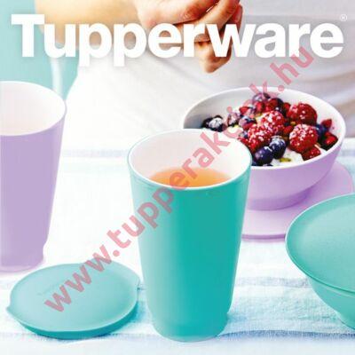 Tupperware Allegra desszertes kehely + pohár szett