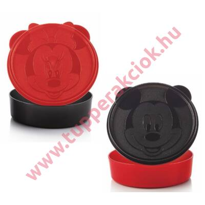 Tupperware Mickey & Minnie Tároló Szett (2 db)