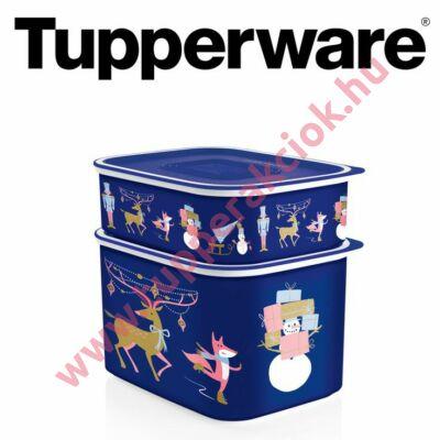 Tupperware Karácsonyi Mindennapi Szögletes szett