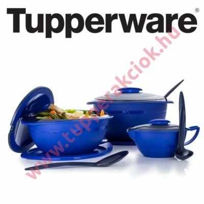 Tupperware Mediterrán tál 2,5 L + Mediterrán kanál