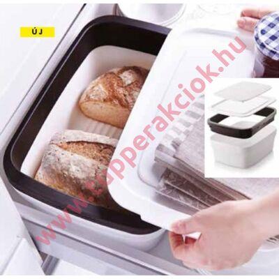 Kompakt kenyértartó