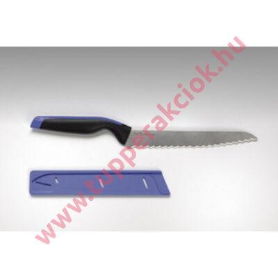 Kenyérvágó kés+tok
