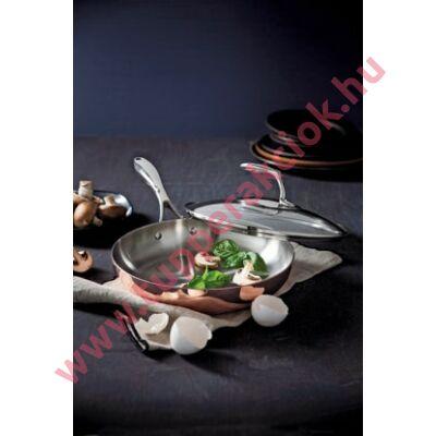 Tupperware Mesterszakács Réz Serpenyő Tetővel 24 cm