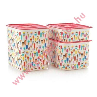 Tupperware Fagylaltos Mindennapi Szögletes 2,1 L
