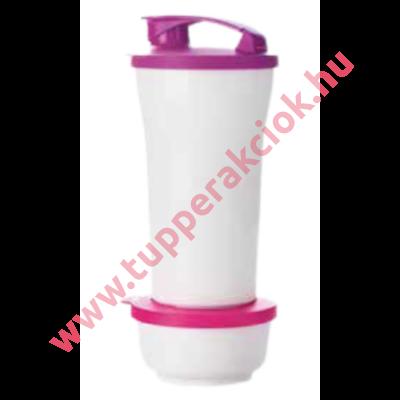 Tupperware Tripla Klikk Pohár 800 ml + Tripla Desszertes Kehely 200 ml
