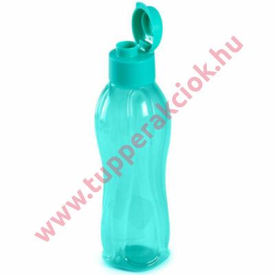 Öko palack kipattintható kupakkal (zöld)