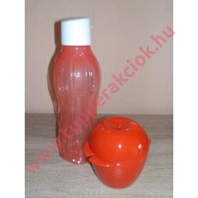 Öko palack alma uzsidobozzal